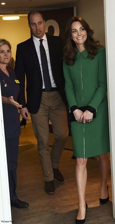 Duchess Kate: William and Kate Meet Inspirational Man Who Contemplated Suicide and the Man Who Saved His Life