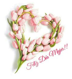 Happy Woman Day, Happy Women, Framed Wallpaper, Happy International Women's Day, Online Image Editor, Bouquet, Button Crafts, Ladies Day, Pink And Green
