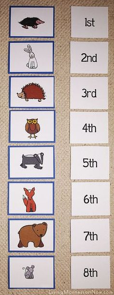 The Mitten Sequencing Layouts by Deb Chitwood, via Flickr