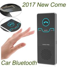 Best Deals $14.99, Buy Gakaki Wireless Handsfree Bluetooth Car Kit Elegant Hands Free Calling Transmitter Car Speakerphone With Car Charger
