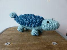 Ankylosaurus crochet dino