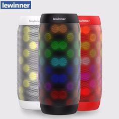Lewinner BQ615 Pro Mini Bluetooth Speaker Portable Wireless Speaker Home  Theater Party Speaker Sound System 3D