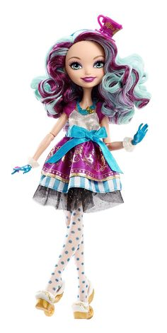 Ever After High First Chapter Madeline Hatter Doll: Amazon.co.uk: Toys & Games