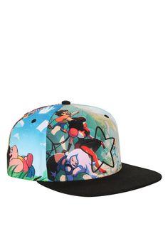 0fd77411f95cf Steven Universe Star Allover Sublimation Snapback Hat