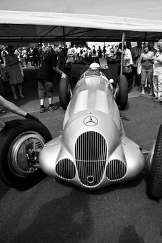 1937 Mercedes Benz Silver Arrow W 125