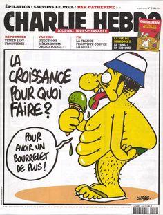 Charlie Hebdo 1104 Aout 2013