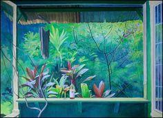 Nahiku Porch by Don Jusko