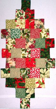 Christmas Star Step Table Runner will add a touch of vintage American Christmas to your home décor.