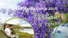 Das Social Media Camp 2016 gibt es jetzt on-demand: 15 Webinare als Videoaufzeichnung und 15 Experten für deinen Social Media Erfolg. Zwei Videos sind zum Schnuppern freigeschaltet. Gleich reinschnuppern.