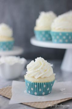 Best Ever Coconut Cream Pie Cupcakes. These Coconut Cream Pie Cupcakes are the perfect combination of coconut cake with a lightly sweetened coconut mousse and topped with a cream cheese whipped cream.