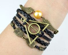 Owl bracelet harry potter magic bracelets and by lovelybracelet, $6.99