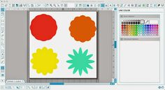 Making a Scalloped Circle or Flower in Silhouette Studio (3 Step Tutorial) ~ Silhouette School