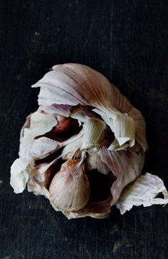 Garlic.  It's seriously delicious.  And it's SO good for you.  And it marks you with the worst breath as a reminder of those two things.