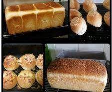 Jumbo 900 g white bread Best Bread Recipe, Bread Recipes, Baking Recipes, Snack Recipes, Thermomix Bread, Bellini Recipe, Cooking Bread, Bread And Pastries, White Bread