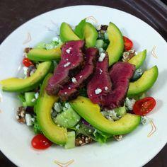 Steak Salad by Sheena