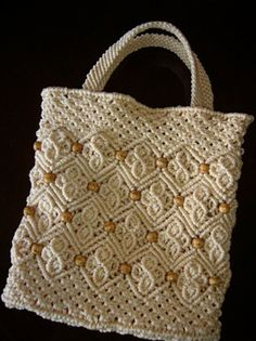 And again handbags … – Fair Masters – manual … – Macrame Macrame Design, Macrame Art, Macrame Projects, Macrame Knots, Micro Macrame, Macrame Jewelry, Crochet Projects, Macrame Purse, Macrame Dress