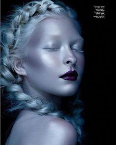 ARCTIC BERRY: Beauty editorial for @modmagazine . Makeup by me , hair by @gbhairstylist , photo @angelscolon , model @mojojojo_jojo !! #makeupartist #mua #beautymakeup #beautyeditorial #glow #highlight #editorialmakeup #promua #fashionmakeup #motd #lotd #glam #makeup #makeupaddict #TurnYourSkinOn