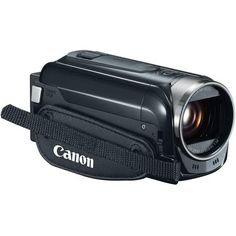 """Canon HFR500 3.28 MP VIXIA 3.0"""" LCD Camcorder, 3.0"""" LCD Screen, 32X Optical Zoom, 1140X Digital Zoom, Optical Lens-Shift Image Stabilization, SD / SDHC / SDXC Memory Card Compatible, Full HD CMOS Image Sensor, Record Full HD Video"""
