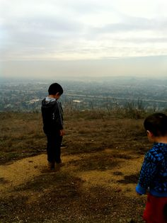 Southern California Hiking with the family - Horsethief Canyon Trail San Dimas