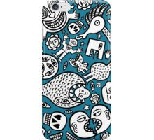 In a world of my own iPhone Case/Skin