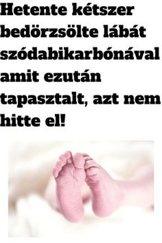 Hetente kétszer bedörzsölte a lábát szódabikarbónával, amit ezután tapasztalt, azt nem hitte el! Baking Soda, Anti Aging, Detox, Medical, Healthy, Farmer, Age, Beauty, Medicine