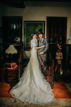 Filipiniana Wedding, Filipino Wedding, Mermaid Wedding, Gowns, Wedding Dresses, Vintage, Fashion, Vestidos, Bride Dresses