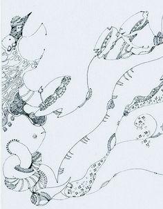 仿石涛山水图 (2009) Li Qing (李晴; b1977, Beijing, China)