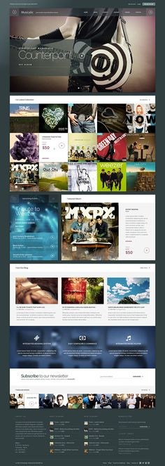 Angkloong - Events & Music WooCommerce Theme Website Design