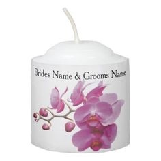 Orchids Inexpensive Wedding Packages Sets Kits Votive Candle - cheap gifts diy cyo unique gift ideas