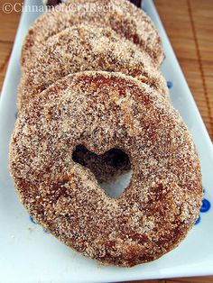 Apple Cider Doughnuts | Cinnamon Spice & Everything Nice