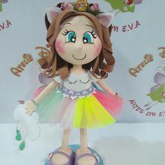 Fofucha unicórnio Foam Crafts, Diy Crafts, Samaritan's Purse, Crafts For Kids, Arts And Crafts, Sofia Party, Ideas Para Fiestas, Lalaloopsy, Little Pony