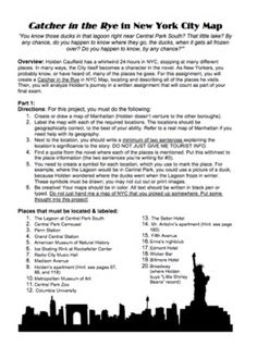 Catcher in the rye essay need help!!!!!!?