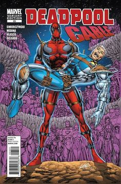 Deadpool/ Cable # 25 (Variant) by Rob Liefeld