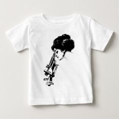 #feminist #tshirts - #Lady with a microscope baby T-Shirt