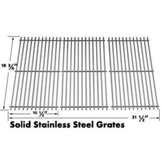 Grillpartszone- Grill Parts Store Canada - Get BBQ Parts,Grill Parts Canada: Sunshine Stainless Steel Cooking Grid Bbq Grill Parts, Bbq Parts, Home Depot Bbq, Grill Brands, Grill Accessories, Grid, Grilling, It Cast, Stainless Steel