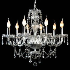Costco Di Luce Dahlia 8-light Chandelier $275