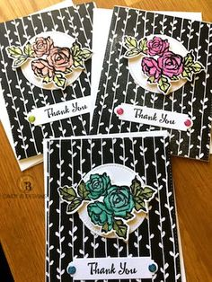 Introducing Petal Palette & Lots of Lavender + November Customer Thank You Cards | Cindy B Designs