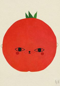 Mx Tomato print by Fine Little Day