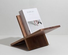 Our first step into furnishing <3 dedicated to one of ours main passions and source of inspiration: magazines. This magazine rack is crafted out from a unique block of wood.  Proudly designed and made in Italy.  Shop now on woodd.it (link in bio)  #woodd #magazine #mag #editorial #cerealmag