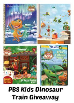 PBS Kids Dinosaur Train Giveaway