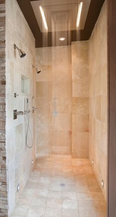 Master shower. Different selections to take a romantic shower.