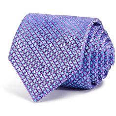 Ted Baker Open Close Circle Neat Classic Tie ($95) ❤ liked on Polyvore featuring men's fashion, men's accessories, men's neckwear and ties