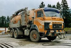 Trucks, Europe, Vehicles, History, Vintage, Bern, Cleanses, Septic Tank, Pump