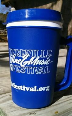 Kerrville Insulated 22 ounce Travel Mug Kerrville Wine and Music Festival | eBay