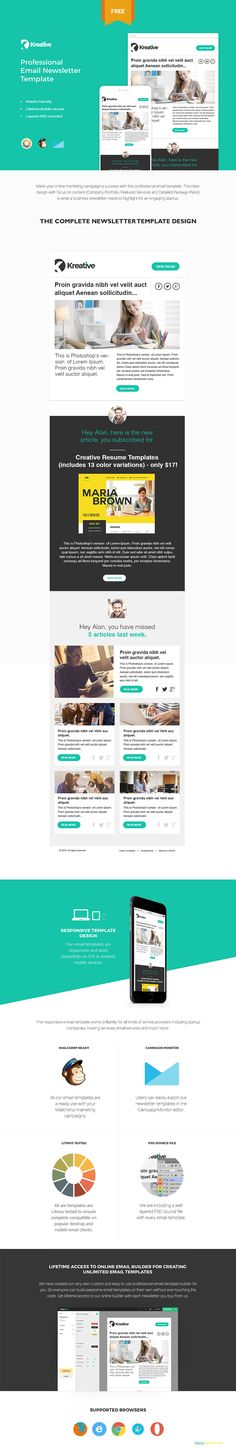 BackAtCha Is Premium Flat Responsive Email Template  Builder
