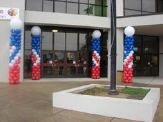 Balloon Columns Kids Jamboree Florence Civic Center