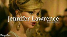 Jennifer Lawrence, My Love, J Law