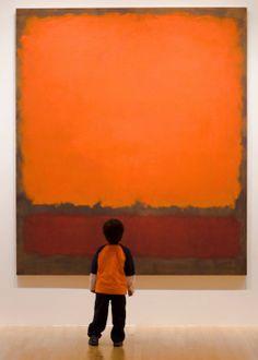 Contemplating Rothko.