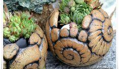 Garten-Keramik: Schnecken ...