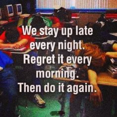 College life #allnighters